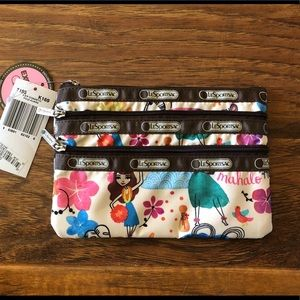 Lesportsac Brand New Hawaii Themed Pouch